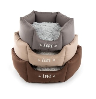 Corbeille Martin Sellier Igloo ronde Gris L - 50 cm 343414