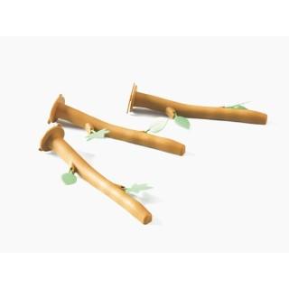 Set perchoirs plastiques Twiggy 3 pièces 34615