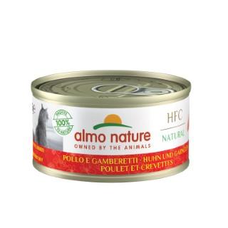 Boîte Chat - Almo nature® Poulet Crevettes Almo 70g 354190
