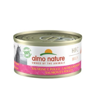 Boîte Chat - Almo nature® Saumon Poulet  70g 354193