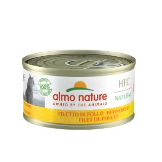 Boîte Chat - Almo nature® Filet de Poulet 70g 359984