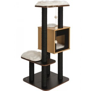 Arbre à chat Vesper V-High Base Black 371205