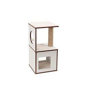 Arbre à chat Vesper V-Box Small White 371209