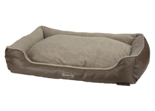 Corbeille Scruffs Chateau Taupe Taille XL - 90 x 70 x 19 cm 374888