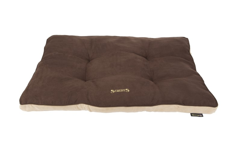 Coussin Scruffs Classic Chocolat Taille M - 82 x 58 cm 302307