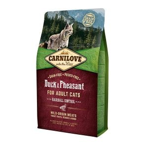 Croquettes chat adult - Carnilove Cat Duck & Pheasant - 2kg 310365