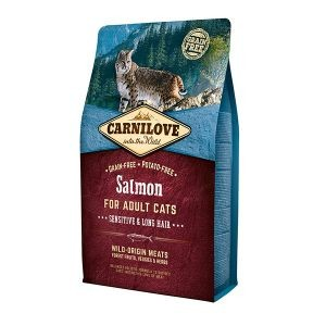 Croquettes chat adult - Carnilove Cat Salmon - 2kg 310368