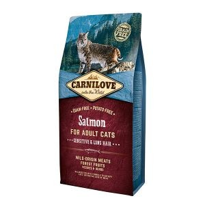 Croquettes chat adult - Carnilove Cat Salmon - 6kg 310369