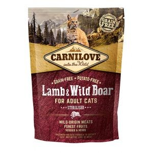 Carnilove lamb & wild Boar for adult cats 0,4kg 310370