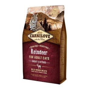 Croquettes Chat - Carnilove Cat Renne - 2kg 310374