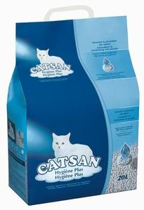 Litière minérale pour chat Catsan Hygiène Plus 20L - 8kg 320111