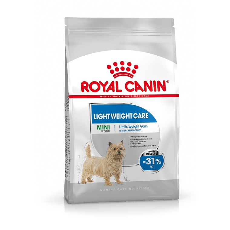 Croquette chien Royal Canin Mini adulte light 8kg 320279