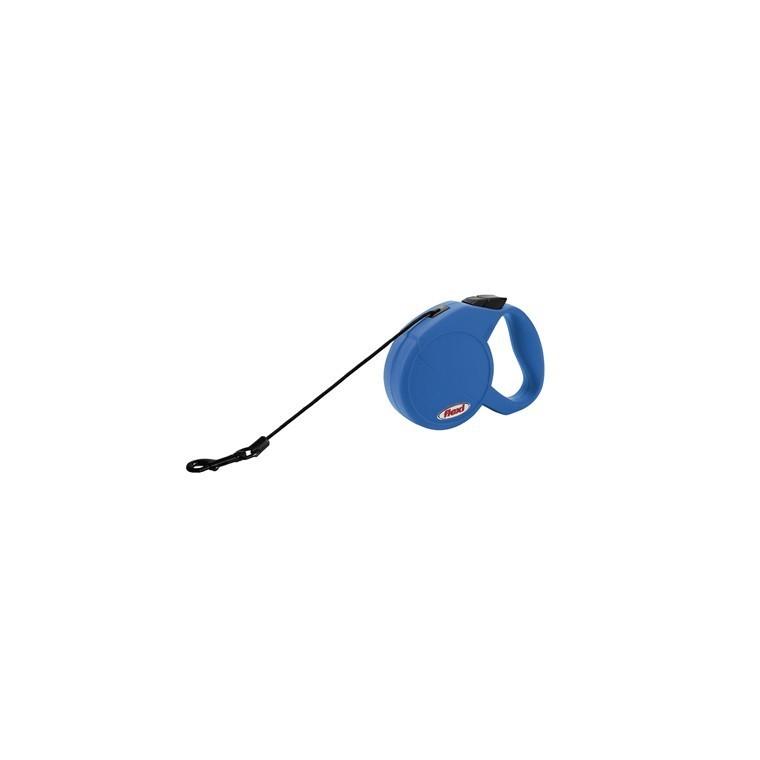Laisse chat enrouleur Flexi Special Cat bleu 3m 324230