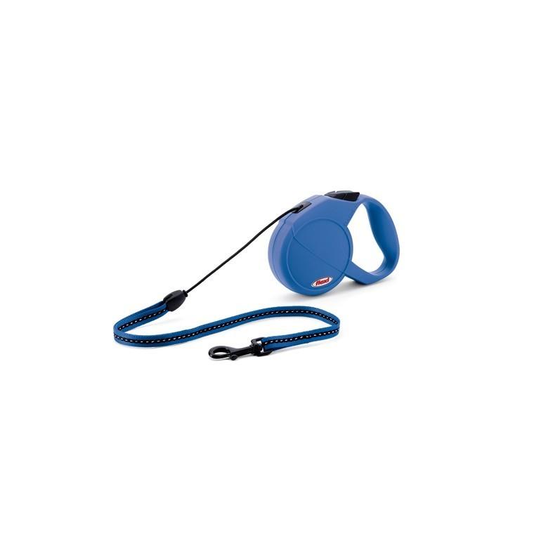 Laisse enrouleur Flexi Classic Basic 1 bleu 5 m 324234
