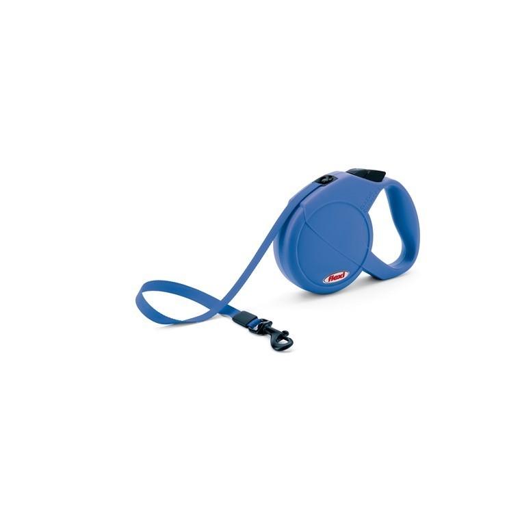 Laisse enrouleur Flexi Classic Compact 2 bleu 2 m 324258