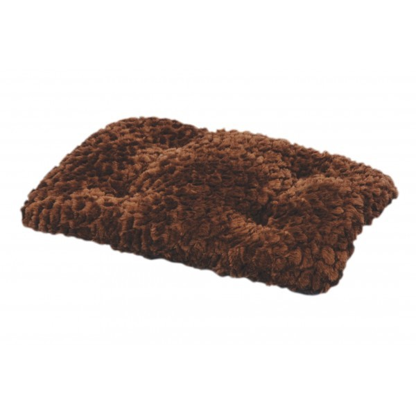 Tapis One Paw Lush Confort Chocolat Taille M - 74 x 45 cm 330280