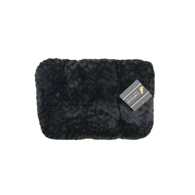 Tapis One Paw Lush Confort Noir Taille XL - 104 x 66 cm 330297