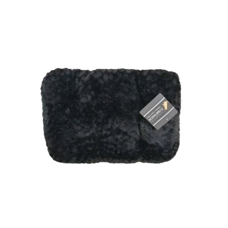 Tapis One Paw Lush Confort Noir Taille XXL - 119 x 71 cm 330298