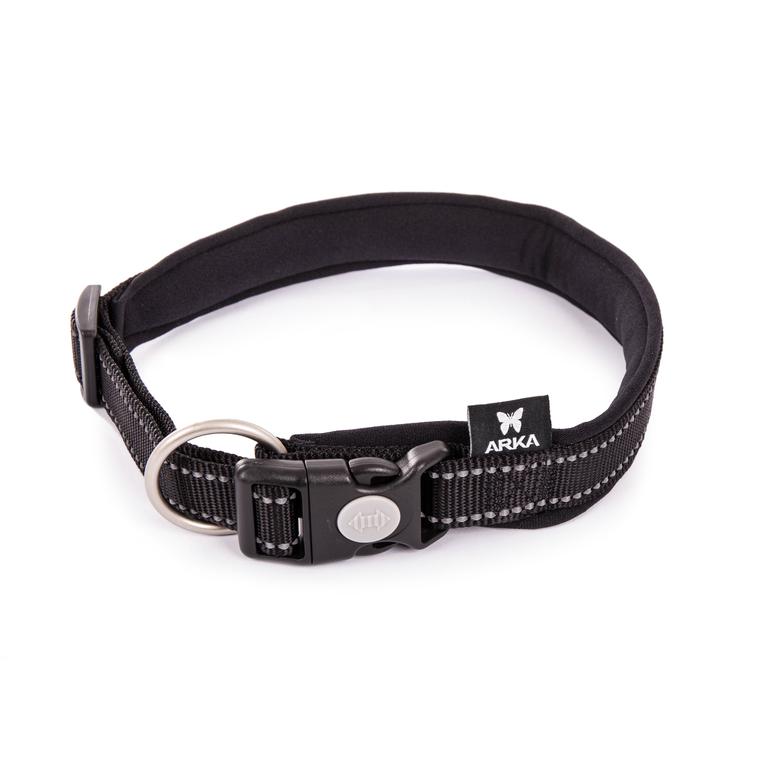 Collier Neo+ noir pour chien 2,5x55/60 cm 334293