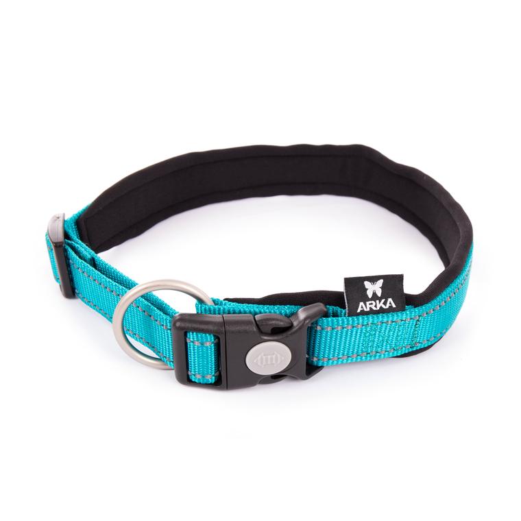 Collier Neo+ bleu pour chien 2,5x55/60 cm 334294
