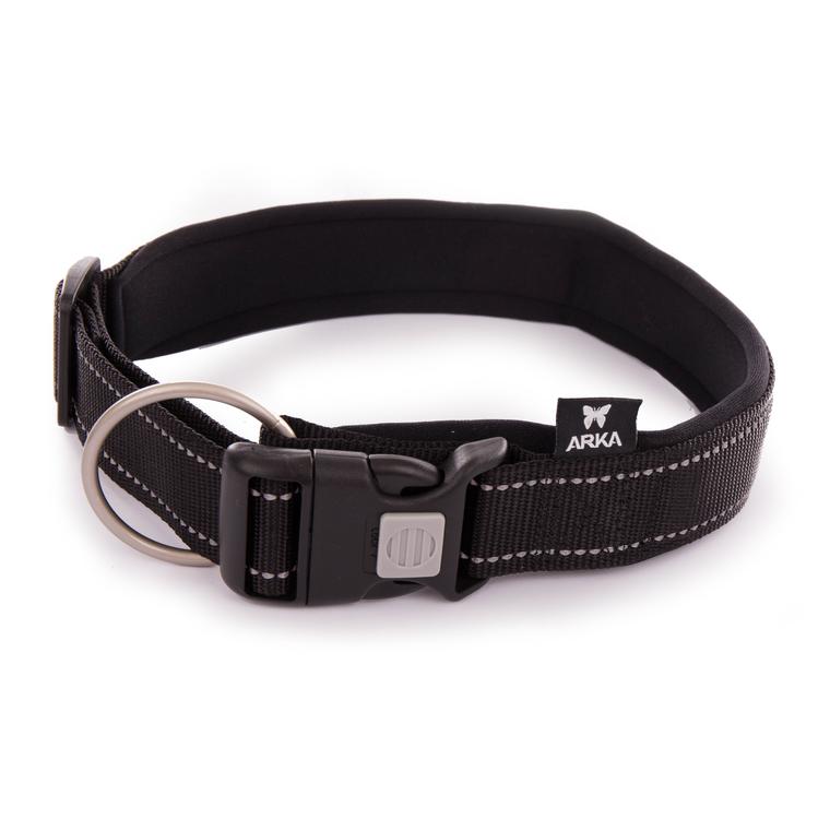 Collier Neo+ noir pour chien 4x50/70 cm 334299