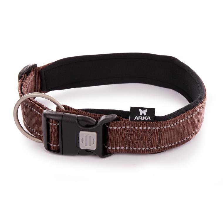 Collier Neo+ marron pour chien 4x50/70 cm 334303