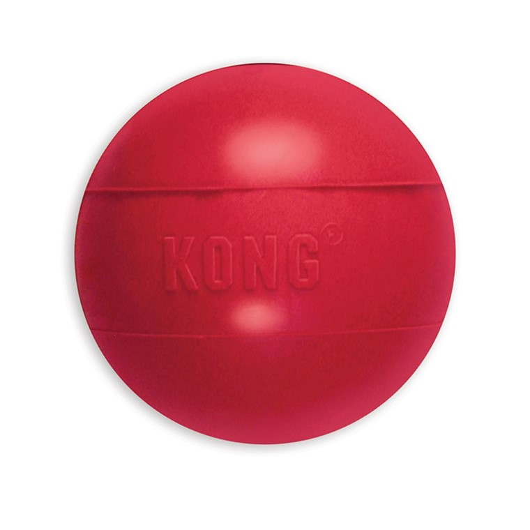 Jouet chien Kong ball Large rouge 7cm 33502