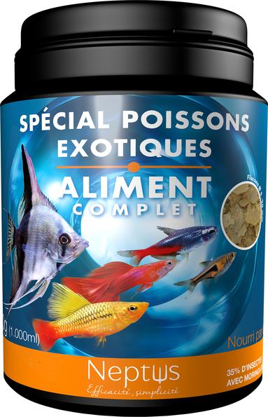 Alim. spécial poissons exotiques 1000ml 343003