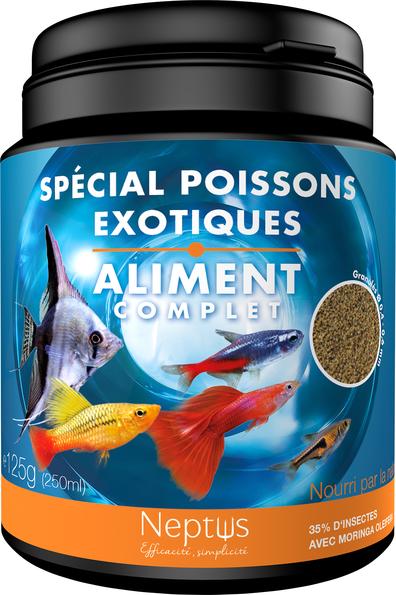 Alim. spécial poissons exotiques 250ml 343005