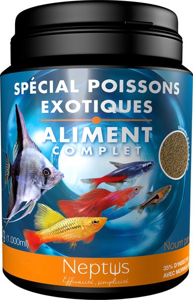 Alim. spécial poissons exotiques 1000ml 343006