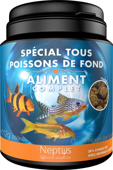 Aliment complet  pour tous poissons de fond 250ml 343013