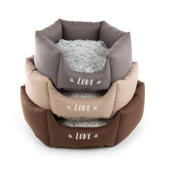 Corbeille Martin Sellier Igloo ronde Gris M - 45 cm 343413