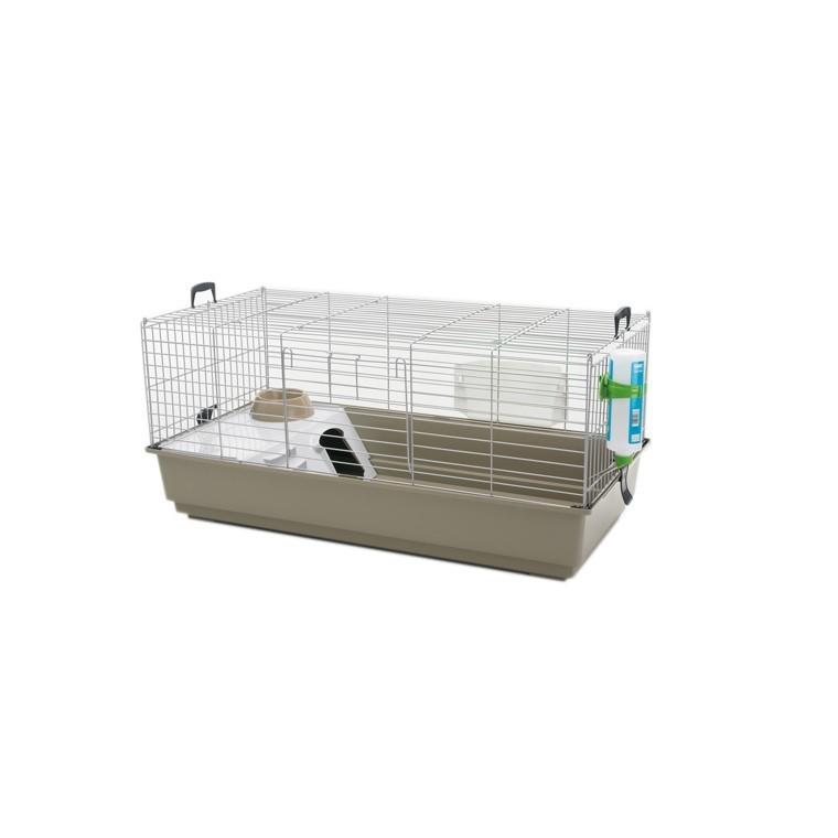 Cage lapin - cobaye Nero 3 de luxe Lounge Savic 100x50x47cm 34659