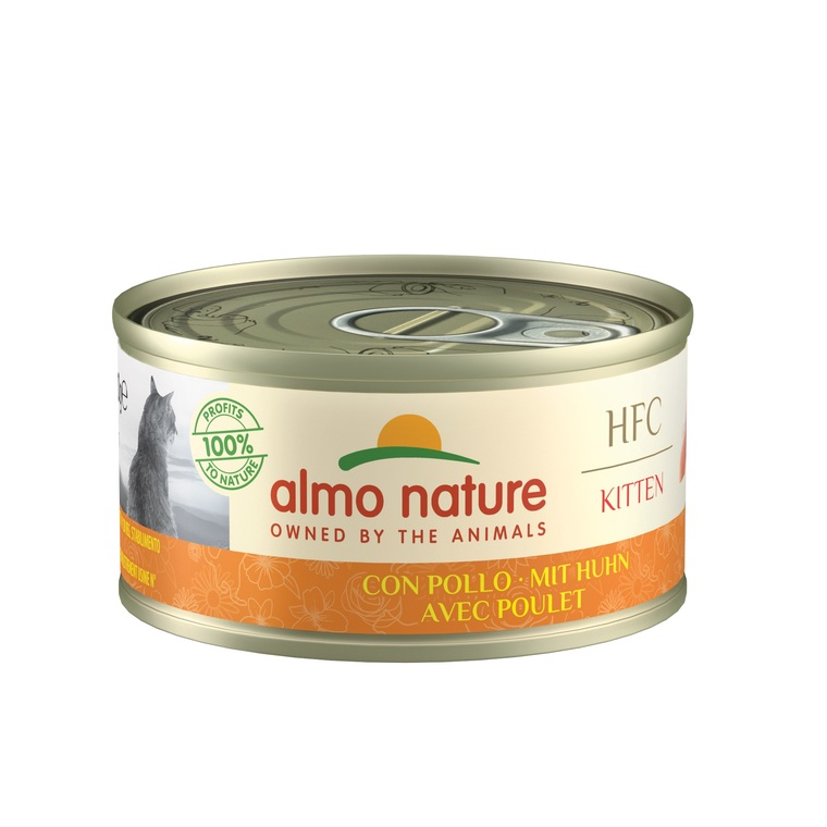Boîte Chaton – Almo Nature HFC Natural Poulet 70 gr 354183