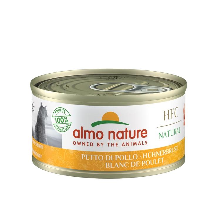 Boîte Chat - Almo nature® Blanc de Poulet 70g 354187