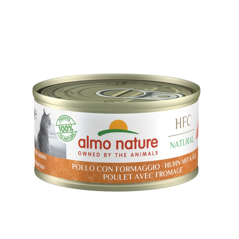 Boîte Chat - Almo nature® Poulet Fromage Almo 70g 354188