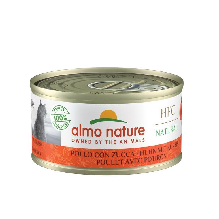 Boîte Chat - Almo nature® Poulet Potiron Almo 70g 354189