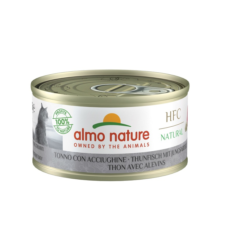Boîte Chat - Almo nature® Thon Blanchailles Almo 70g 354195