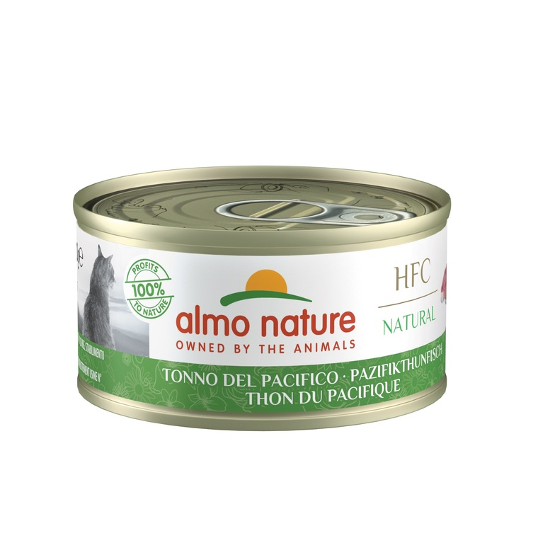 Boîte Chat - Almo nature® Thon Pacifique Almo 70g 354199