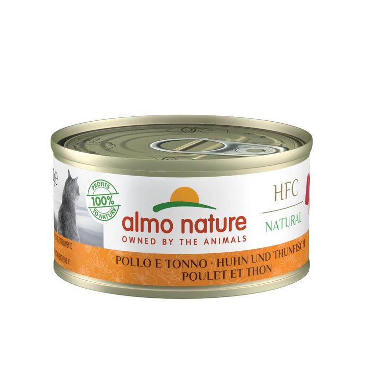 Boîte Chat - Almo nature® Thon Poulet Almo 70g 354201
