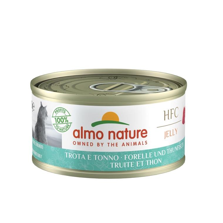 Boîte Chat - Almo nature® Truite Thon Almo 70g 354202