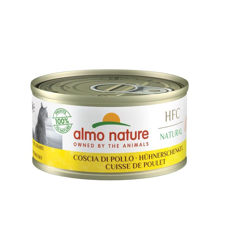 Boîte Chat - Almo nature® Cuisse de Poulet 70g 359985