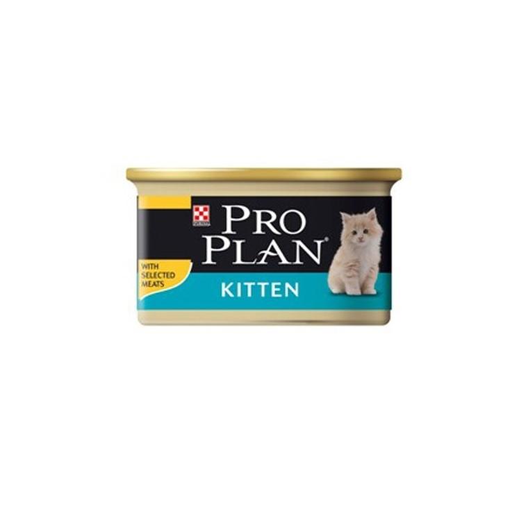 Boîte chaton developpement Poulet Pro Plan 85g 363514