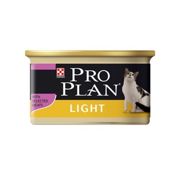 Boîte chat Adulte Light Dinde Pro Plan 85g 363517