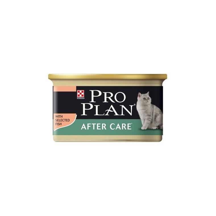 Boîte chat Adulte Stérilisé Saumon Thon Pro Plan 85g 363519