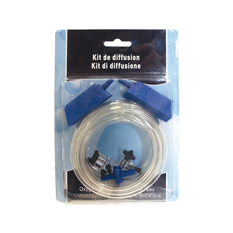 Kit aération aquarium pour pompe à air 366093