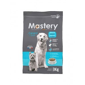 Croquettes Chien -  Mastery adulte Canard 3kg 367480