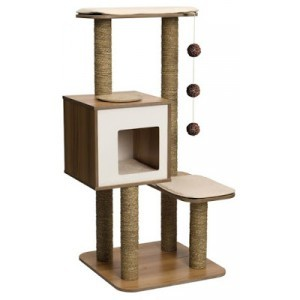 Arbre à chat Vesper V-High Base Walnut 371204