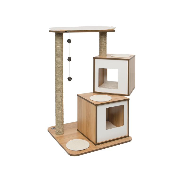 Arbre à chat Vesper V-Double Walnut 371206