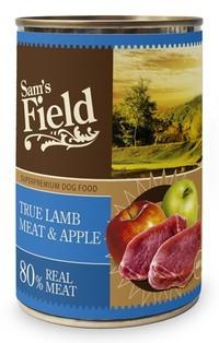Boîte Chien - Sam's Field Agneau & Pommes Adult 400g 371642